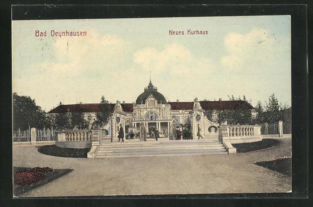 AK Bad Oeynhausen, Neues Kurhaus 0