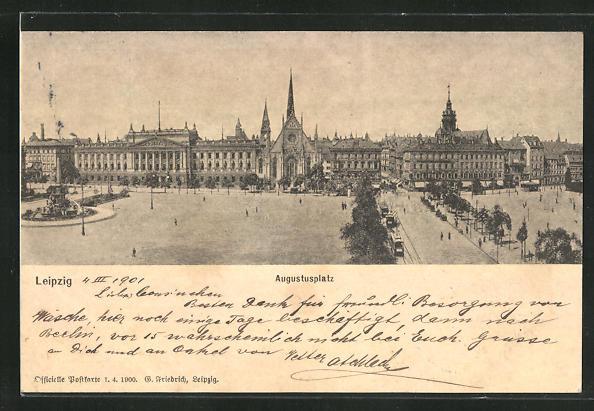 AK Leipzig, Augustusplatz 0