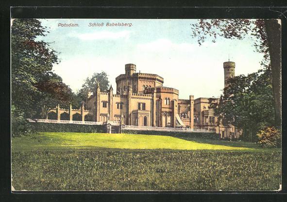 AK Potsdam, Schloss Babelsberg 0