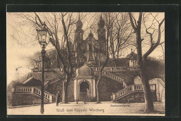 AK Würzburg, Käppele, Stationsaufgang 0
