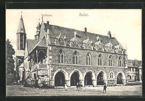 AK Goslar, Rathaus 0