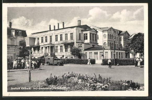 AK Ahlbeck / Seebad, HO-Gaststätte Fortschritt 0