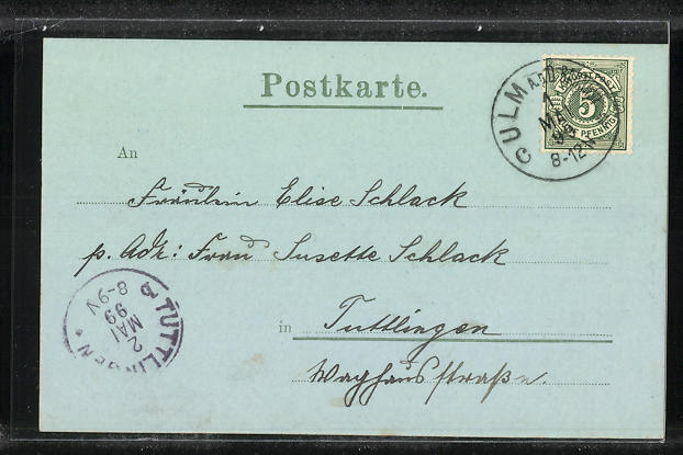 Mondschein-AK Ulm a. D., Das Münster 1