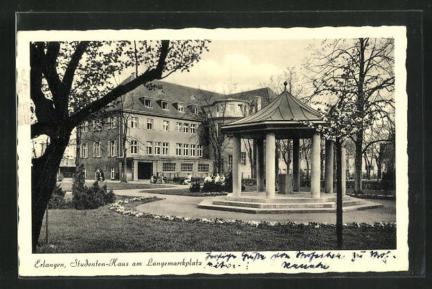 AK Erlangen, Studenten-Haus am Langemarckplatz 0
