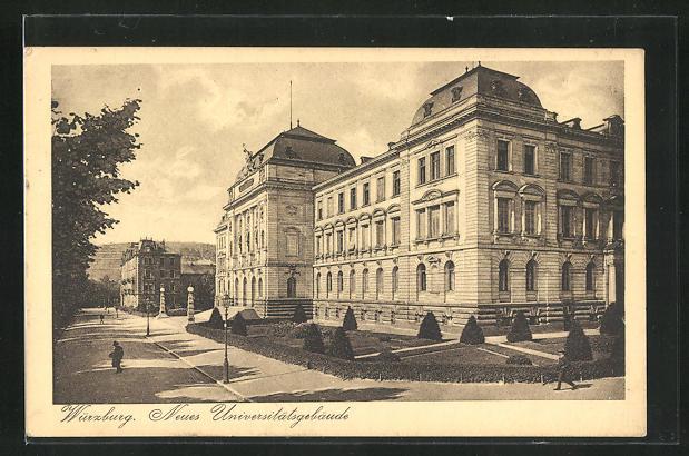 AK Würzburg, Neues Universitätsgebäude 0