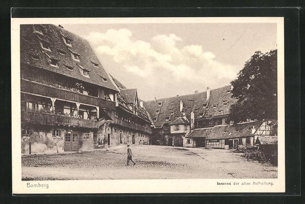 AK Bamberg, Inneres der alten Hofhaltung 0