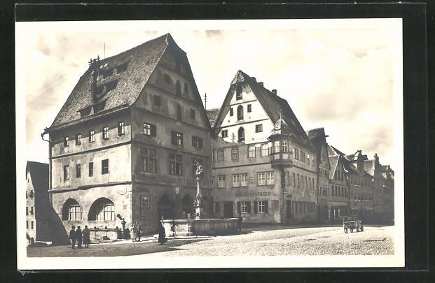 AK Rothenburg o. T., Ortsmuseum und Marien-Apotheke, Herrengasse 0