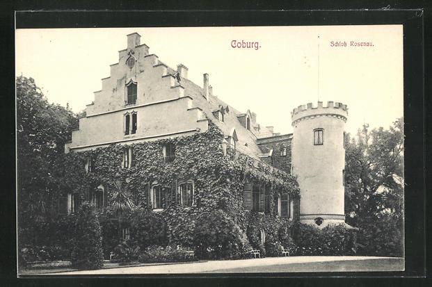 AK Coburg, Schloss Rosenau 0