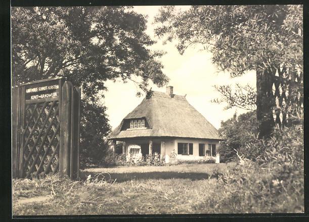 AK Ahrenshoop / Ostseebad, Ortspartie 0