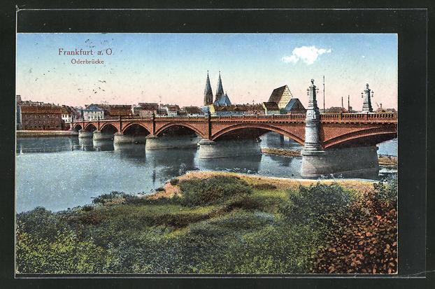 AK Frankfurt a. O., Oderbrücke 0