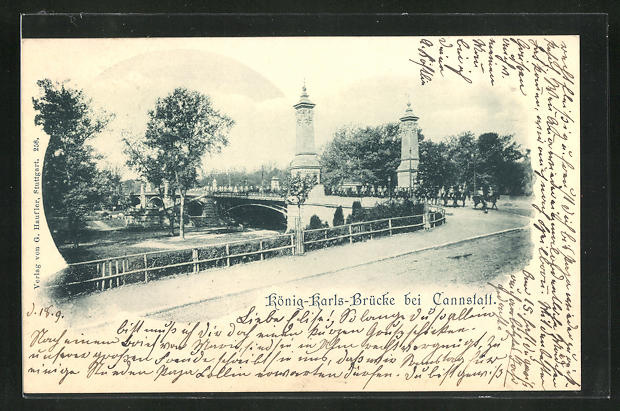 AK Cannstatt, König-Karls-Brücke 0