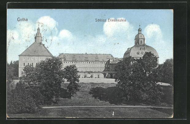 AK Gotha, Schloss Friedenstein 0