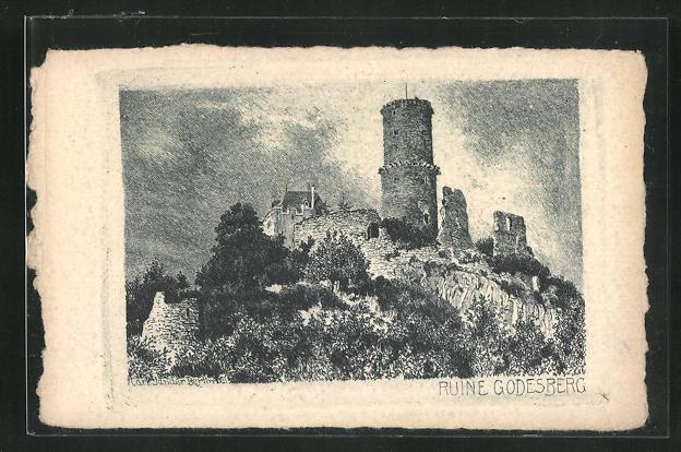 AK Godesberg, Ruine Godesberg 0