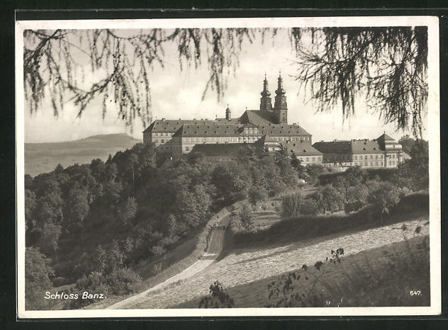 AK Bad Staffelstein / Bayern, Schloss Banz 0