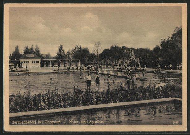AK Hartmannsdorf, Natur- und Sportbad 0