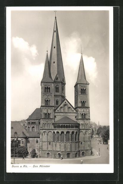 AK Bonn a. Rh., Blick auf das Münster 0
