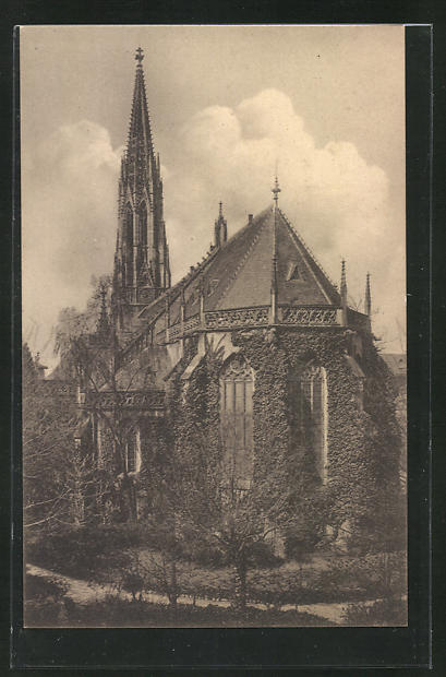 AK Heidelberg, Blick auf die Peterskirche 0