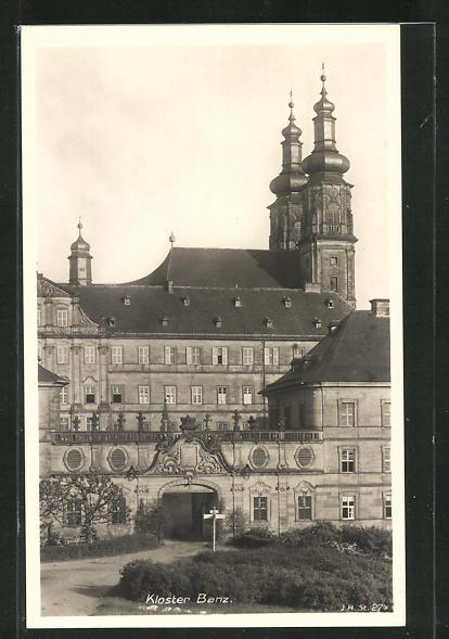 AK Banz, Blick zum Kloster 0
