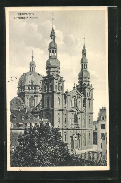 AK Würzburg, Stifthauger-Kirche 0