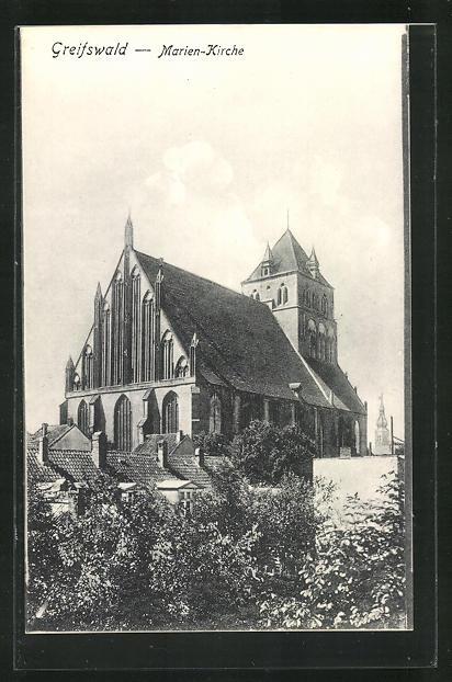 AK Greifswald, Marien-Kirche 0