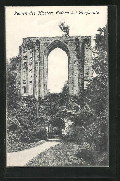 AK Greifswald, Ruinen des Klosters Eldena 0