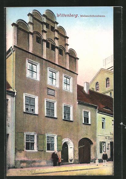 AK Wittenberg, Ansicht vom Melanchthonhaus 0