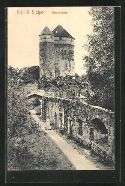 AK Stolpen, Schloss, Koselturm 0