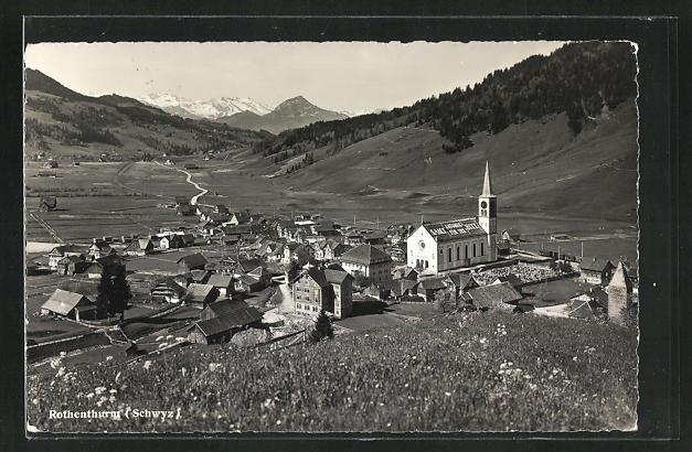 AK Rothenthurm / Schwyz, Ortsansicht 0