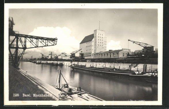 AK Basel, Rheinhafen 0