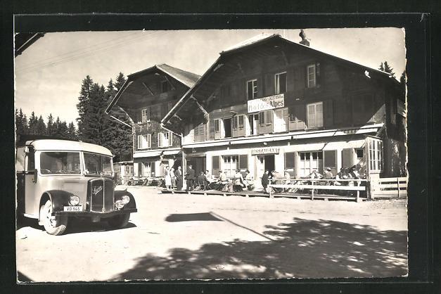 AK Jaunpass, Hotel des Alpes 0