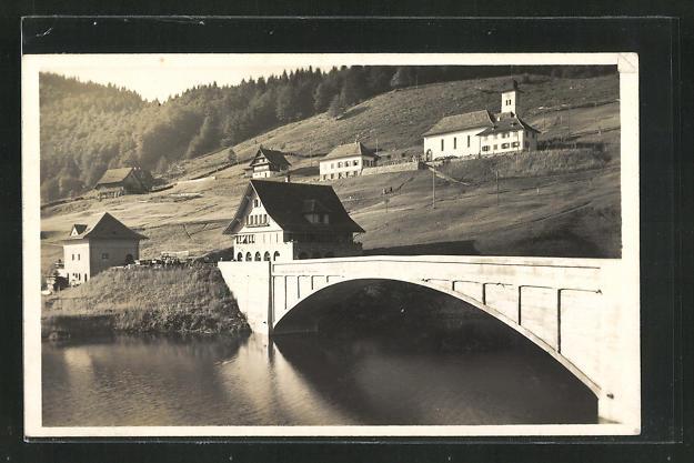 AK Neu-Innertal / Wäggital, Gasthaus zum Stausee 0