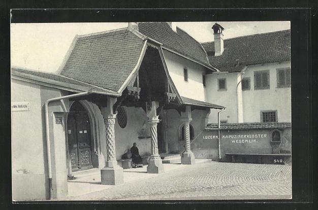 AK Luzern, Kapuzinerkloster Wesemlin 0