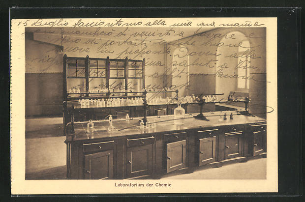 AK Schwyz, Kollegium Maria Hilf, Laboratorium der Chemie, Innenansicht 0