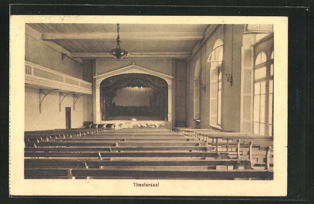 AK Schwyz, Kollegium Maria Hilf, Theatersaal, Innenansicht 0