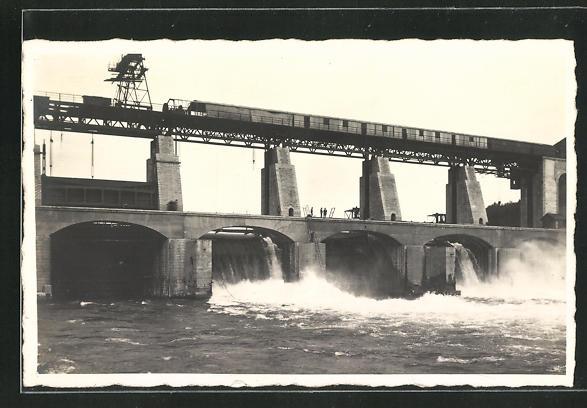 AK Rheinsfelden, Staudamm des Kraftwerkes 0