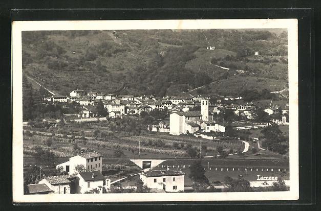 AK Lamone, Panoramablick vom Berg 0