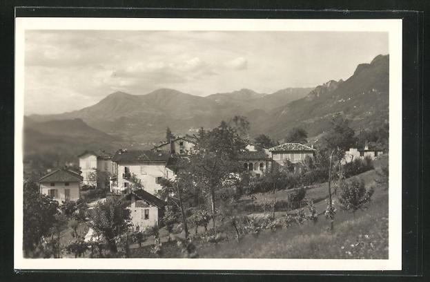 AK Pazzallo, Panoramablick vom Berg 0