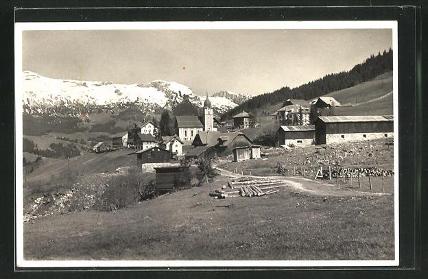 AK Sörenberg, Gesamtansicht mit Schrattenfluh 0