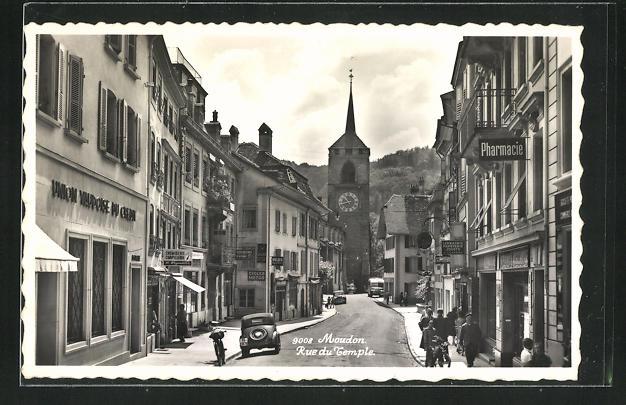 AK Moudon, Rue du Temple 0