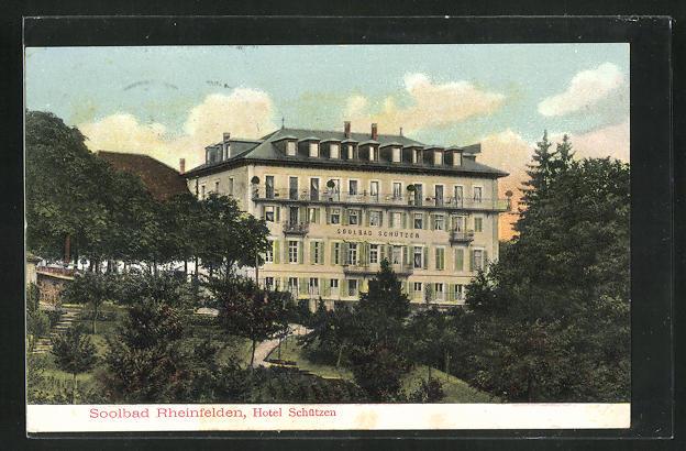 AK Rheinfelden, Hotel Schützen 0