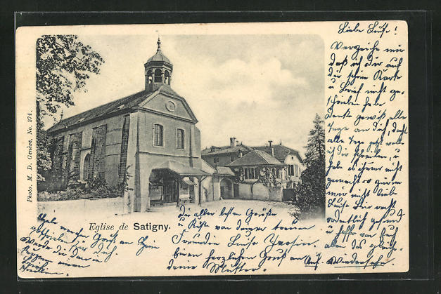 AK Satigny, Eglise, Kirche 0