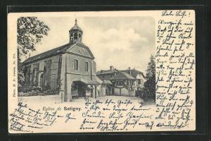 AK Satigny, Eglise, Kirche