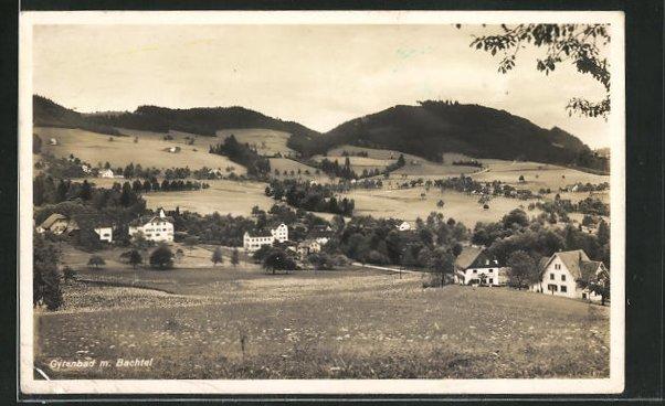 AK Gyrenbad, Panorama mit Bachtel 0
