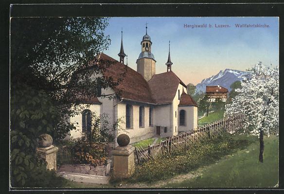 AK Hergiswald, Wallfahrtskirche zur Baumblüte 0