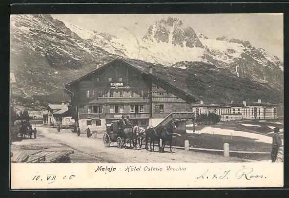 AK Maloja, Hotel Osteria Vecchia 0