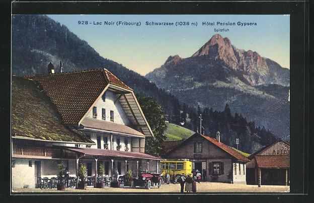 AK Schwarzsee - Lac Noir, Hotel Pension Gypsera 0