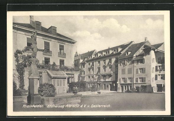 AK Rheinfelden, Erherzog Albrecht d. V. v. Österreich 0