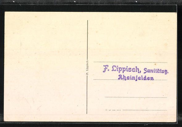 AK Rheinfelden, Erherzog Albrecht d. V. v. Österreich 1