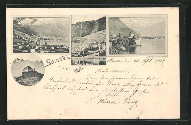 AK Territet Glion, Panorama, Chatelard & Challon 0