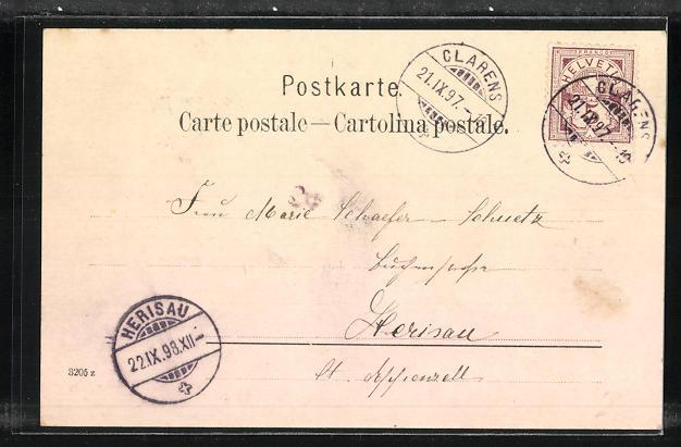 AK Territet Glion, Panorama, Chatelard & Challon 1